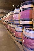 barrel aging cellar domaine protheau mercurey burgundy france