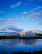 Petro Marine Services' tank farm, Craig, Prince of Wales Island, Southeast Alaska.