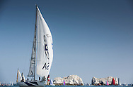 Pictures of the 2014 J.P Morgan Round The Island Yacht Race. Solent. UK . Free for editorial use . Please Credit: Lloyd Images