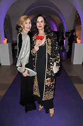 ALLEGRA HICKS and CELIA VENTURI at The Surrealist Ball in aid of the NSPCC in association with Harpers Bazaar magazine held at the Banqueting House, Whitehall, London on 17th March 2011.