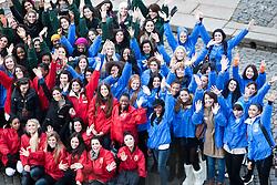 The Miss World participants visit Edinburgh Castle..MISS WORLD 2011 VISITS SCOTLAND..Pic © Michael Schofield.