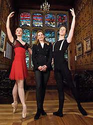 The New English Ballet Theatre <br /> reception and performance at 2 Temple Place, London, Great Britain <br /> 18th March 2013 <br /> <br /> <br /> <br /> New English Ballet Theatre is having its fundraising launch for its upcoming programme of newly commissioned work for 2013. *The Bulldog Trust at Two Temple Place have opened their doors to NEBT by offering NEBT a Fellowship and an invitation to perform alongside their current art exhibition 'Amongst Heroes: The Artist in Working Cornwall'. The evening will be a wonderful opportunity for NEBT to showcase its young dancers and raise money for a new generation of creative talent in stunning surroundings. <br /> <br /> <br /> Darcy Bussell with dancers from NEBT<br /> Georgina Rose-Connolly <br /> and<br /> Christopher Furlong <br /> <br /> also with patrons <br /> <br /> Darcey Bussell CBE<br /> <br /> Anya Sainsbury CBE<br /> <br /> Mara Galeazzi<br /> <br /> Erina Takahashi<br /> <br /> <br /> <br /> Photograph by Elliott Franks