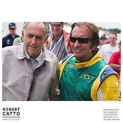 Sir Jack Brabham;Emerson Fittipaldi at the A1 Grand Prix of New Zealand at the Taupo Motorsport Park, Taupo, New Zealand.