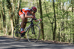 Joëlle Numainville (Cervélo Bigla) - Flèche Wallonne Femmes - a 137km road race from starting and finishing in Huy on April 20, 2016 in Liege, Belgium.