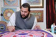 Künstler im Künstlerviertel, Zafed / Sefad, Galiläa, Israel.|.artists quarter, Zafed / Sefad, Galilee,  Israel.