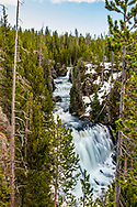 Keppler Cascades in Yellowstone National Park