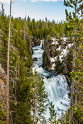 Keppler Cascades in Yellowstone National Park