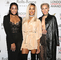 Stooshe, Alexandra Buggs, Karis Anderson, Courtney Rumbold, London Lifestyle Awards, Lancaster London Hotel UK, 03 October 2016, Photo by Richard Goldschmidt