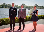 Brandenburg, GERMANY, Sunday,  08/05/2016, Left FISA CEO, Matt SMITH.    2016 European Rowing Championships at the Regattastrecke Beetzsee, [Mandatory Credit; Peter SPURRIER/Intersport-images]