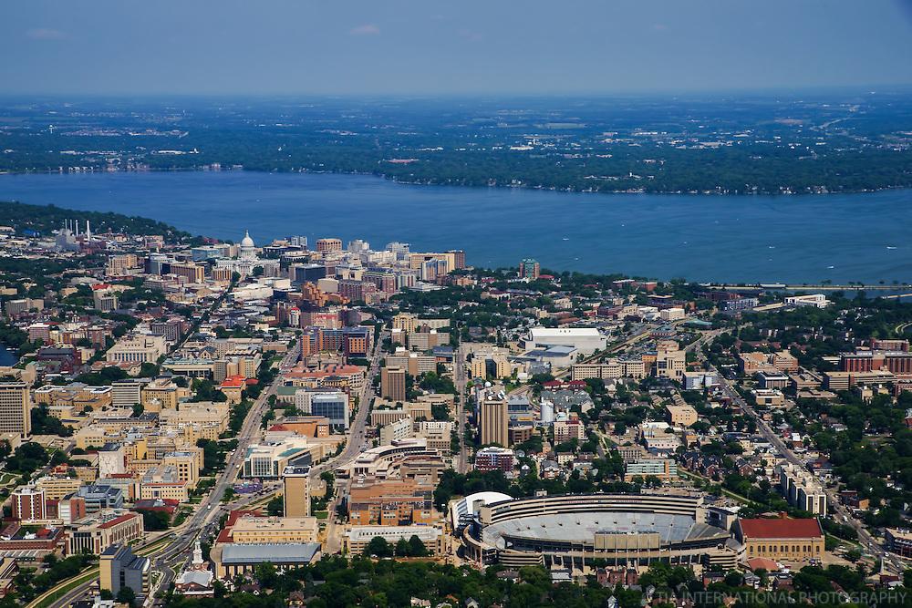 University of Wisconsin & Lake Monona