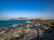 Valentia Island Lighthouse on the Wild Atlantic Way in County Kerry Ireland.<br /> Picture by Don MacMonagle -macmonagle.com