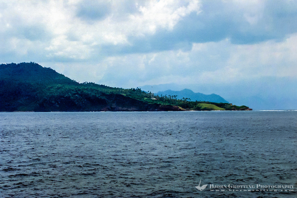 Sumatra, Aceh. Passing the northernmost point on mainland Sumatra and mainland Indonesia. North of here is some small islands, next stop India.