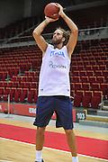 Danzica - Polonia 03 Agosto 2012 - Nazionale Italia Maschile Allenamento - <br /> Nella Foto : LUIGI DATOME<br /> Foto Ciamillo