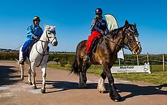 Kilt Walk, Murifield Riding Therapy, East Lothian, 25 April 2021