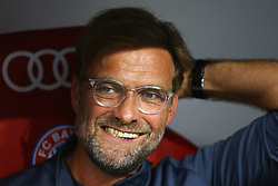 August 2, 2017 - Munich, Germany - Liverpool coach Jurgen Klopp during the Audi Cup 2017 match between Liverpool FC and Atletico Madrid at Allianz Arena on August 2, 2017 in Munich, Germany. (Credit Image: © Matteo Ciambelli/NurPhoto via ZUMA Press)