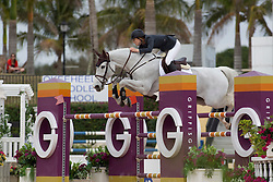 Saer Coulter (USA) - Victory DA<br /> Horseware GP CSI 2*<br /> Wellington 2012<br /> © Hippo Foto - Cealy Tetly