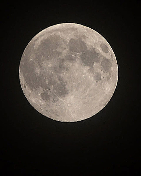 Super Moon Over Pittsburgh