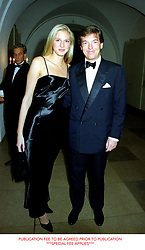 23 October 1998 - Miss Shelley Lewis and Charles Butter, his mother was a good friend and confidant of HM The Queen, at a reception at The Banqueting Hall, Whitehall, London<br /> <br /> Photo by Dominic O'Neill/Desmond O'Neill Features Ltd.  +44(0)1306 731608  www.donfeatures.com