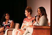 Step Up student, Jenni Luke, CEO, Step Up Women's Network, and Garcelle Beauvais