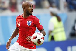 Fabian Delph of England during the 2018 FIFA World Cup Play-off for third place match between Belgium and England at the Saint Petersburg Stadium on June 26, 2018 in Saint Petersburg, Russia