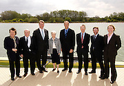 Caversham, Reading, Berks, ENGLAND, ..Official opening Redgrave Pinsent Rowing Lake and Sheriff Boathouse, By, Sirs' Matt Pinsent  and Steven Redgrave, 29.04.2006 © Peter Spurrier / Intersport images...'New 13 millon pounds British International Rowing Trianing facility at Caversham Lake' .