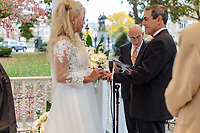 The wedding day of Don Schiarizzi and Luciene Lins Galdino Dos Santos on October 24, 2020