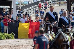 Team Belgium<br /> World Equestrian Games - Tryon 2018<br /> © Hippo Foto - Dirk Caremans<br /> 23/09/2018