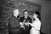1966 - Players and Wills trophies presented for Gaelic League Inter Branch Debating Competition