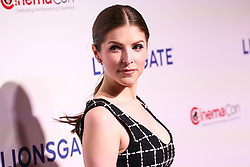 LAS VEGAS, NV, USA - APRIL 26: CinemaCon 2018 - Lionsgate Presentation held at The Colosseum at Caesars Palace during CinemaCon, the official convention of the National Association of Theatre Owners on April 26, 2018 in Las Vegas, Nevada, United States. 26 Apr 2018 Pictured: Anna Kendrick. Photo credit: Xavier Collin/Image Press Agency / MEGA TheMegaAgency.com +1 888 505 6342
