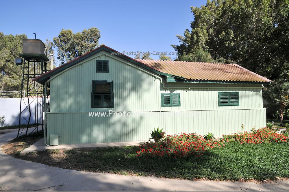 Israel, Negev desert, Kibbutz Sde Boker, Ben-Gurion Desert Home