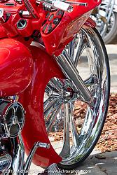 Bob Bolognese's custom 2013 Harley-Davidson Road Glide at the Perewitz Paint Show at the Broken Spoke Saloon during Daytona Beach Bike Week, FL. USA. Wednesday, March 13, 2019. Photography ©2019 Michael Lichter.