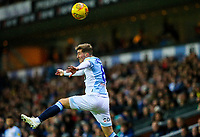 Blackburn Rovers' Joe Rothwell tries to keep the ball in play<br /> <br /> Photographer Alex Dodd/CameraSport<br /> <br /> The EFL Sky Bet Championship - Blackburn Rovers v Queens Park Rangers - Saturday 3rd November 2018 - Ewood Park - Blackburn<br /> <br /> World Copyright © 2018 CameraSport. All rights reserved. 43 Linden Ave. Countesthorpe. Leicester. England. LE8 5PG - Tel: +44 (0) 116 277 4147 - admin@camerasport.com - www.camerasport.com