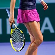 Victoria AZARENKA (BLR) during their TEB BNP Paribas WTA Championships at Sinan Erdem Arena in Istanbul Turkey on Tuesday, 30 October 2011. Photo by TURKPIX