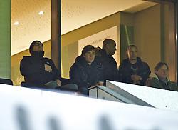 21.12.2013, Weserstadion, Bremen, GER, 1. FBL, SV Werder Bremen vs Bayer 04 Leverkusen, 17. Runde, im Bild Clemens Fritz (SV Werder Bremen #8) verfolgte das Speil aus einer der Logen, der Ostkurve // Clemens Fritz (SV Werder Bremen #8) verfolgte das Speil aus einer der Logen, der Ostkurve during the German Bundesliga 17th round match between SV Werder Bremen and Bayer 04 Leverkusen at the Weserstadion in Bremen, Germany on 2013/12/21. EXPA Pictures © 2013, PhotoCredit: EXPA/ Andreas Gumz<br /> <br /> *****ATTENTION - OUT of GER*****