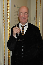 LONDON, ENGLAND 28 NOVEMBER 2016: Charles Saumarez Smith at a reception to celebrate the publication of The Sovereign Artist by Christopher Le Brun and Wolf Burchard held at the Royal Academy of Art, Piccadilly, London, England. 28 November 2016.