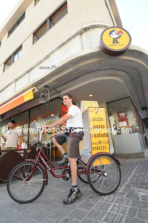 Bicycle Pizza delivery