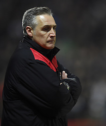 Bristol City interim manager John Pemberton - Mandatory by-line: Paul Knight/JMP - Mobile: 07966 386802 - 19/01/2016 -  FOOTBALL - Ashton Gate Stadium - Bristol, England -  Bristol City v West Bromwich Albion - FA Cup third round