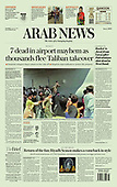 August 17, 2021 - ASIA-PACIFIC: Front-page: Today's Newspapers In Asia-Pacific