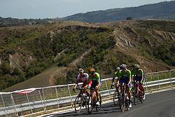 Luka Pibernik, Tadej Pogacar of Team Slovenia during Practice session at UCI Road World Championship 2020, on September 25, 2020 in Imola, Italy. Photo by Vid Ponikvar / Sportida