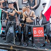 NLD/Amsterdam/20120804 - Canalparade tijdens de Gaypride 2012, Mr. B. boot