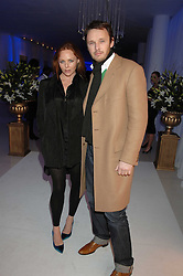 STELLA McCARTNEY and husband ALASDHAIR WILLIS attending the Tag Heuer party where an exhibition of photographs by Mary McCartney celebrating 15 exception women from 15 countries was unveiled at the Royal College of Arts, Kensington Gore, London on 8th February 2007.<br /><br />NON EXCLUSIVE - WORLD RIGHTS