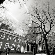 Liberty Hall, where the Declaration of Independence was signed, Old City, Philadelphia.