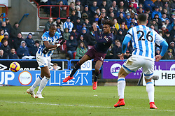 Arsenal's Alex Iwobi scores his side's first goal of the game