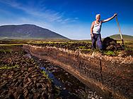 Photographer: Chris Hill, Turf Cutter, Achill, County Mayo