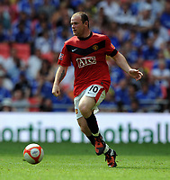Fotball<br /> England<br /> Foto: Fotosports/Digitalsport<br /> NORWAY ONLY<br /> <br /> Wayne Rooney<br /> Manchester United 2009/10<br /> Chelsea V Manchester United 09/08/09<br /> Chelsea Win on Penalties (4-1) During Penalty Shootout<br /> The FA Community Shield 2009 Wembley Stadium