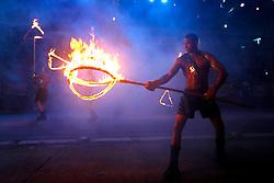 Desfile temático na abertura da Festa Nacional da Uva, em Caxias do Sul. FOTO: Jefferson Bernardes/ Agência Preview