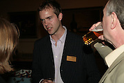 Mark Henshall,  Frommer's UK celebrate the launch of 'with Your family.'  Hosted by the directors of Wiley. Courtrooms 1 & 2. Browns. St. Martins Lane. London. 2 May 2007. -DO NOT ARCHIVE-© Copyright Photograph by Dafydd Jones. 248 Clapham Rd. London SW9 0PZ. Tel 0207 820 0771. www.dafjones.com.