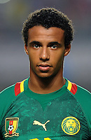 Football Fifa Brazil 2014 World Cup Matchs-Qualifier / Africa - Play-Off / <br /> Tunisia vs Cameroon 0-0  ( Olympic Stadium of Rades , Tunis-Rades , Tunisia ) <br /> Joel MATIP of Cameroon , during the match between Tunisia and Cameroon