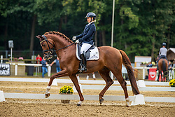 NILSHAGEN Therese (SWE), La Vie 62<br /> Finalqualifikation der 5 jährigen Dressurpferde<br /> Warendorf - Bundeschampionate 2020<br /> 03. September 2020<br /> © www.sportfotos-lafrentz.de/Stefan Lafrentz