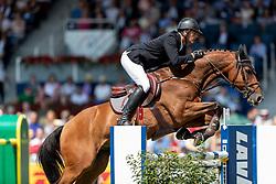 HOUTZAGER Marc (NED), Sterrehof's Calimero<br /> Aachen - CHIO 2018<br /> Rolex Grand Prix 1. Umlauf<br /> Der Grosse Preis von Aachen<br /> 22. Juli 2018<br /> © www.sportfotos-lafrentz.de/Stefan Lafrentz
